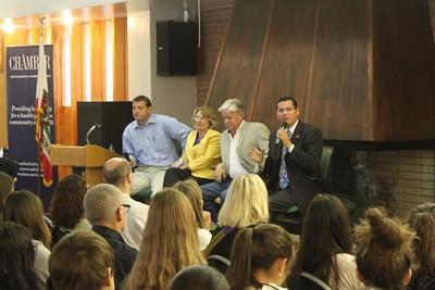 Legislative Forum – Rep David Valadao, Jean Fuller, Rudy Salas Jr, Andy Vidak (October 2014)