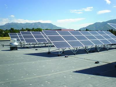WSU Davis Solar Panels