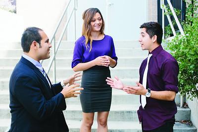 Daniel Martinez. Bianca Morales, Steven Sanchez