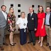 Conor, Conor's wife Eleanor, Brenda, Colm, Monina and husband Paul