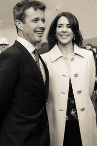 Kronprins Frederik and Kronprinsesse Mary, Stattin, Poland,  14th May 2014