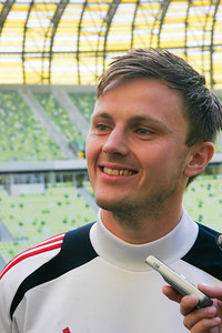 Øverst Viktor Fisher, national Danish football team, 2013