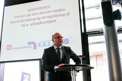 Rafal Wisniewski, Polish ambassador, conference at LO, Copenhagen, Denmark, 2013