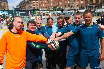 Kongens ø team, Ombold competition 2014, Rådhusplads, Copenhagen, 2014