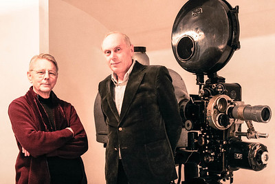 Ebbe Preisler and Leszek Kopeć, Gdanya film school, Poland, 2013