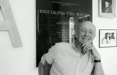 Anders Refn, Danish film director, assistent director; editor, Copenhagen, 2014