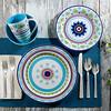 Tableware on Wood Marrakesh