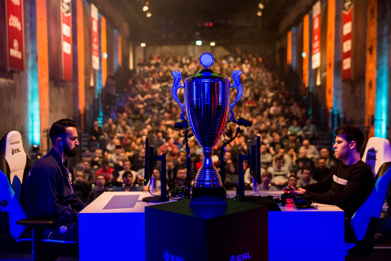 What the games are all about: The ESL Meisterschafts Trophy