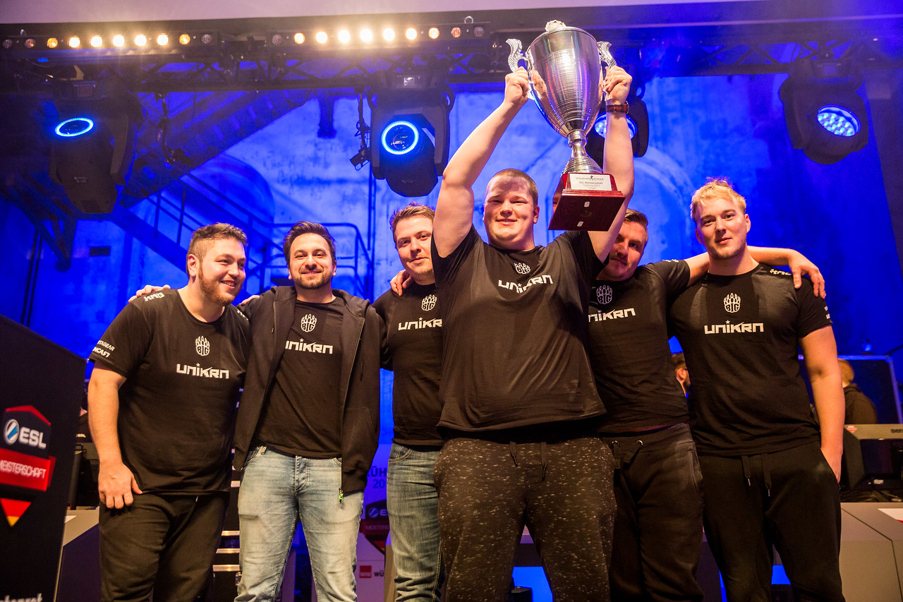 The ESL Meisterschaft Spring Finals CS:GO Champions BIG