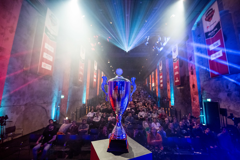 The Trophy of the ESL Meisterschaft