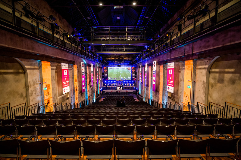 The Venue 'Landschaftspark Duisburg' awaits the action of the ESL Meisterschaft Spring Finals 2017