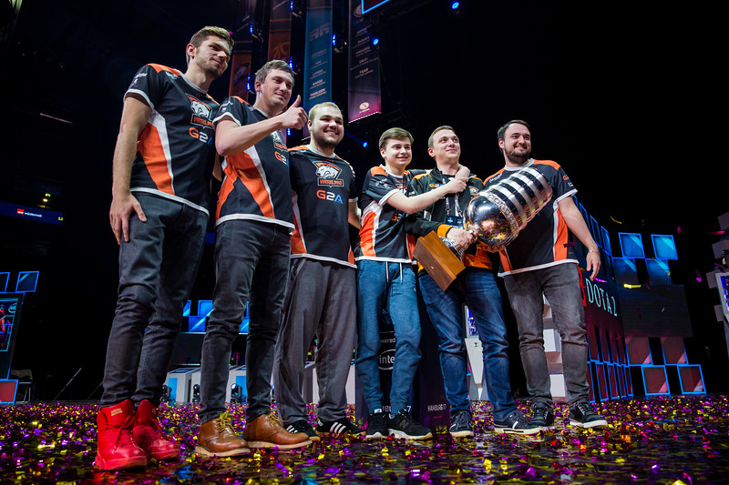 The winners of ESL One Hamburg 2017 are Virtus Pro!