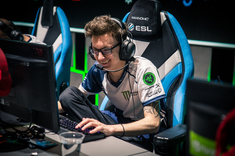 Team Liquid's miracle is having fun on stage