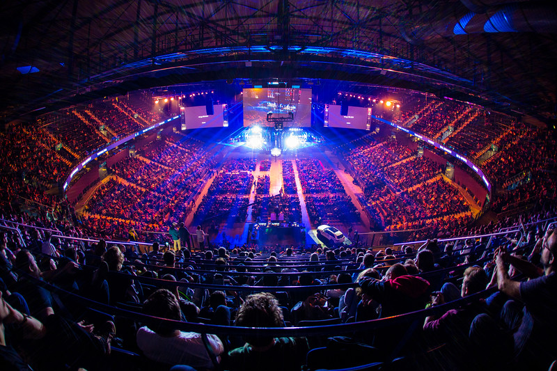 The Venue of ESL One Hamburg 2017: The Barclaycard Arena