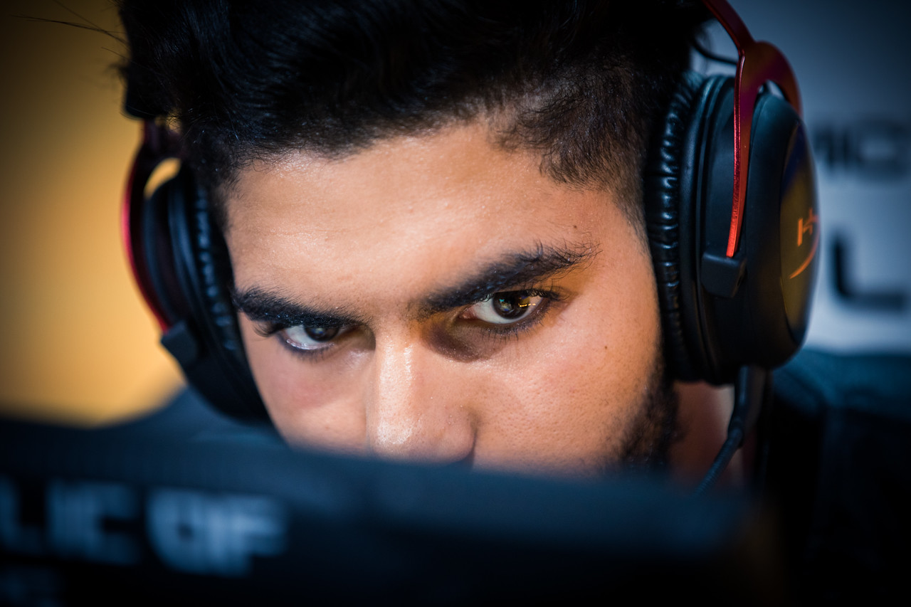 Team EnVyUs' ScreaM in full focus