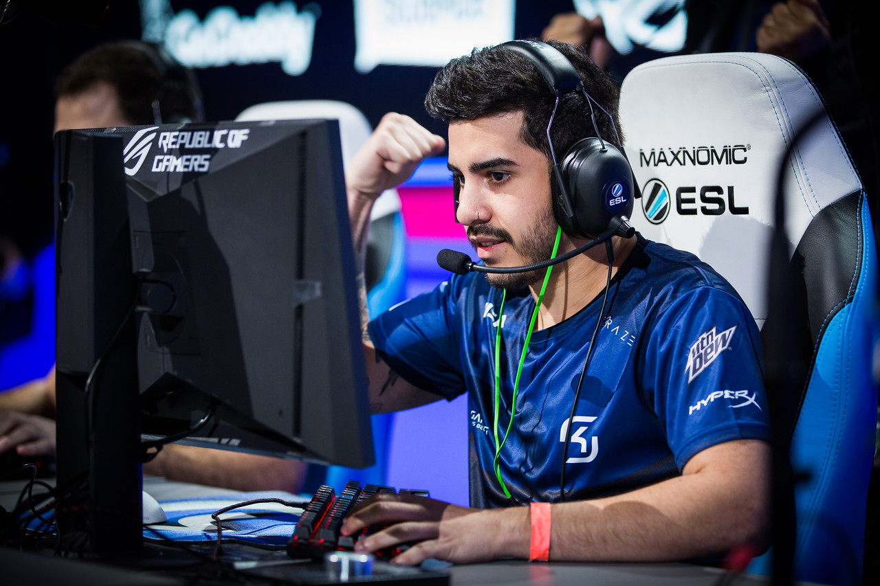 SK Gaming's coldzera playing in the Semifinals against Team Liquid