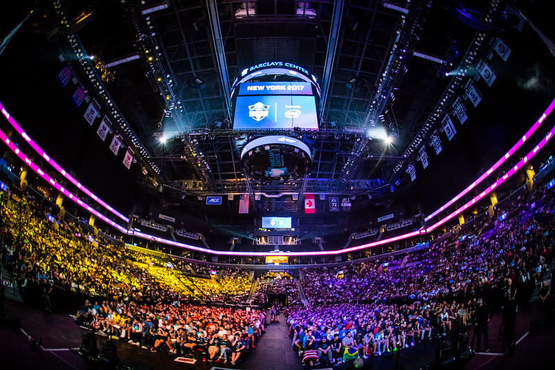 The Venue of ESL One New York 2017: The Barclay Center