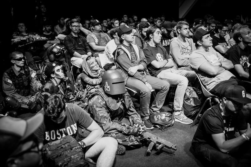 The crowd of the Tom Clancy's Rainbow Six: Siege Pro League Season 2 Finals
