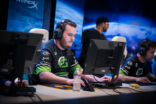 Optic's Friberg playing the group stages