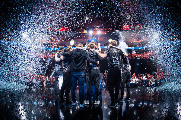 The champions of the Intel Extreme Masters: Ninjas in Pyjamas!