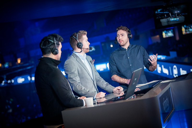 Chad 'Spunj' Burchill and  Janko 'YNK' Paunović join Alex 'Machine' Richardson at the analyst desk