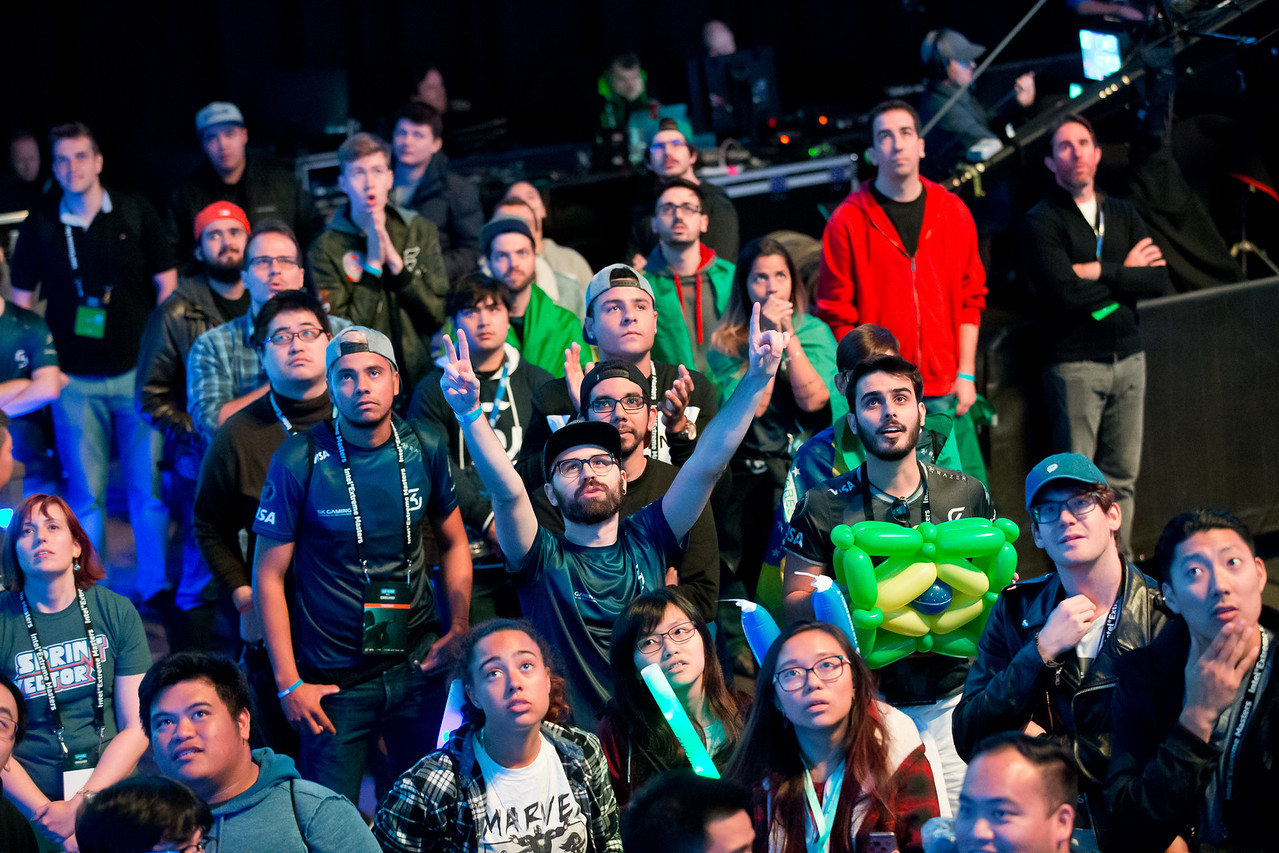 The crowd of the Intel Extreme Masters Oakland 2017!