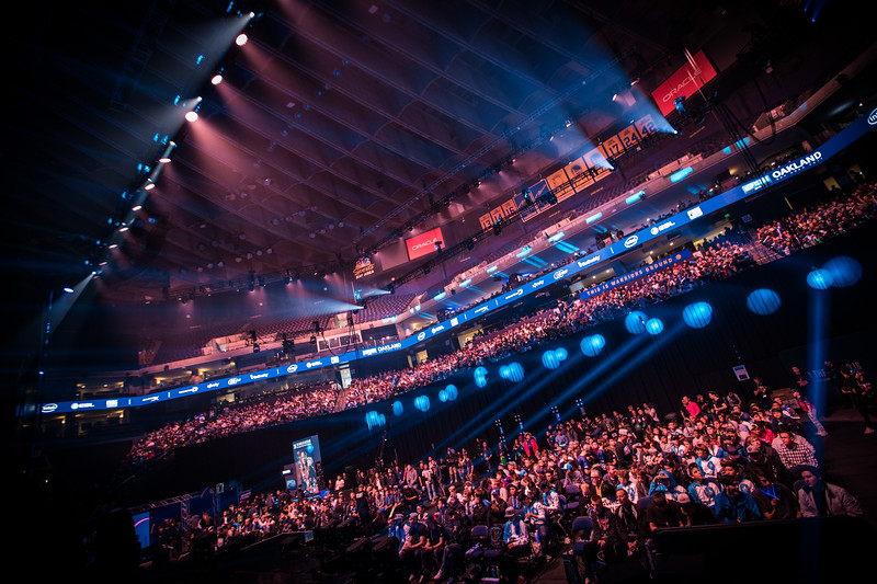 The amazing crowd during the grand finals of Intel Extreme Masters 2017