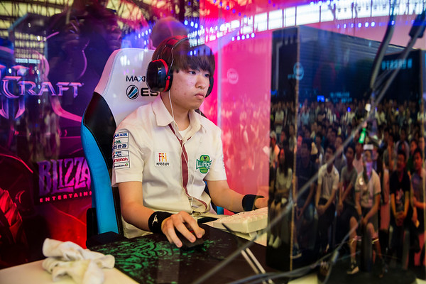 Jin Air Green Wings's Maru in full focus