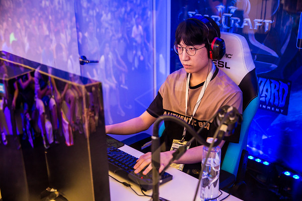 Innovation playing on the stage of the Intel Extreme Masters Shanghai 2017