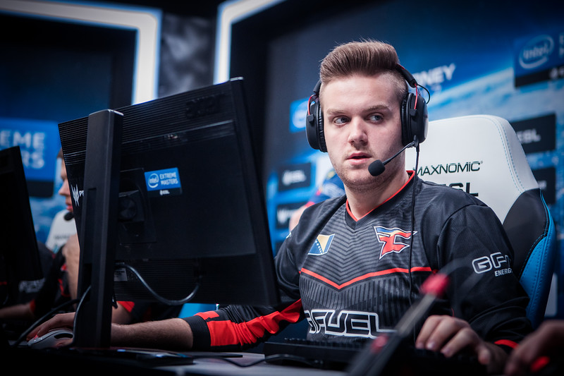 FaZe NiKo playing the Intel Extreme Masters Sydney 2017 group stage