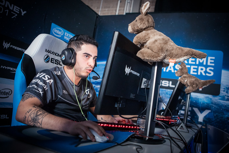 SK Gaming's Coldzera at Intel Extreme Masters Sydney 2017