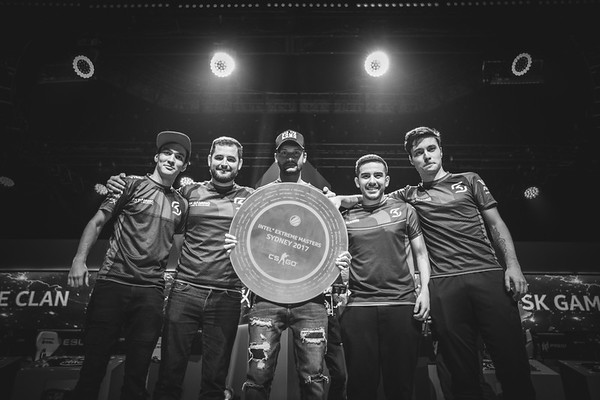 Intel Extreme Masters Sydney 2017 champions SK Gaming