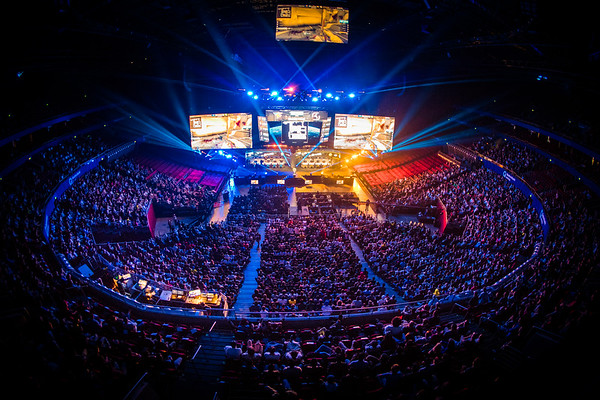 The amazing crowd during the grand finals of Intel Extreme Masters Sydney 2017