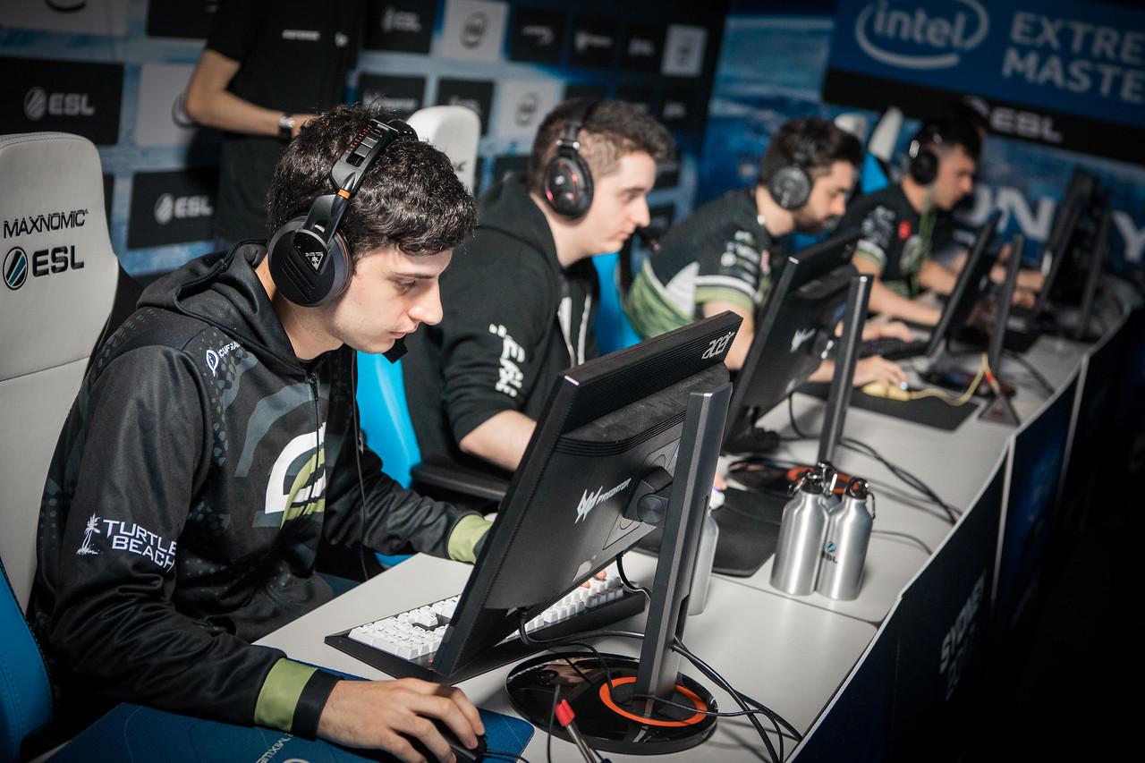 Optic Gaming at Intel Extreme Masters Sydney 2017