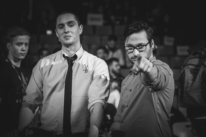 The caster-duo HenryG and Sadokist