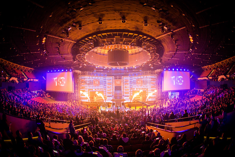 The opening ceremony of the Counter-Strike: Global Offensive Intel Extreme Masters World Championships Katowice 2017