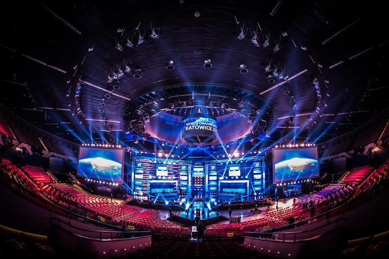 The Spodek Arena opens