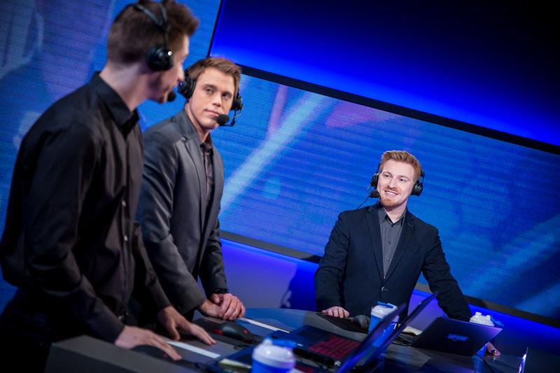 The desk discusses the prior games