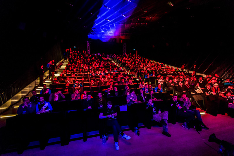 The Crowd of the Starcraft 2 Intel Extreme Masters World Championships Katowice 2017