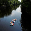 Tubing Saco River to beat heat
