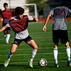 Thornton Academy soccer intrasquad scrimmage
