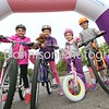Jasmine Appleby, Olivia Collier, Ruby Appleby and Eleanor Rose at the start. Picture Gary Donnison.