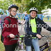 Sheridan Warner and Nerys feeney-Howells get ready for the ride. Picture Gary Donnison