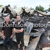 Finbow Furniture, MDEP-24-06-2017-001 Owner Brian Finbow and Manager Jason Scruby at the Fire Scene  Bacton