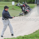 MDEP-04-05-2017-011 Diss Golf Tournament .  Colin Sunderland from Bungay sand shot