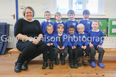 MDEP-17-01-2018-002 Teacher Ruth Lewis with the Reception Year St Andrews CEVA Primary School North Lopham