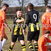 MDEP-24-02-2018-039 New signing Tanner Call celebrates the first of his brace