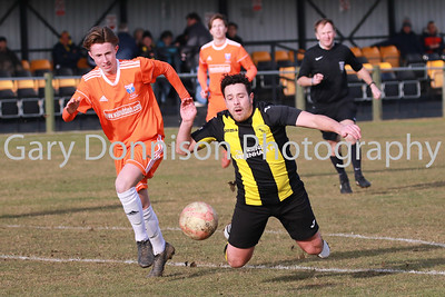 MDEP-24-02-2018-037 Debenham No11 Jack Severy is brought down in the box for a penalty to make it 1-0