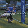 MDEP-14-01-2017-005 Rugby Diss RFC v Romford & Gidea Park RFC. Diss No 15 Chris Beiard scores the second Try for Diss .