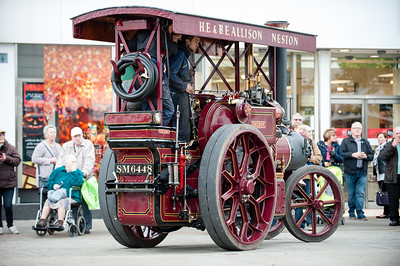 Steam Sunday Blackburn for the Lancashire Telegraph